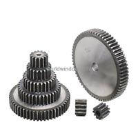 2M10T-2M40T 45# Steel Spur Gear Metal Module 2 Moter Gear Wheel 10-40 Tooth