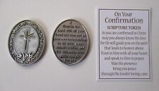 q Trust in Lord On Your Confirmation SCRIPTURE TOKEN pocket charm Ganz