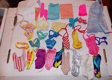 Vintage Barbie Doll Nightgowns Bathing Suits Bikini Slips CLOTHING Fashions