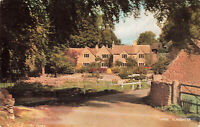 Rare Vintage Postcard - Upper Slaughter Village - Gloucester, England. Unposted.
