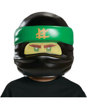 Child's LEGO® Ninjago Movie Lloyd Green Ninja Mask Costume Accessory