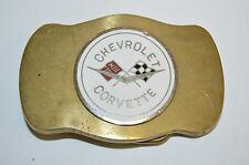 Vintage Solid Brass Belt Buckle Rare
