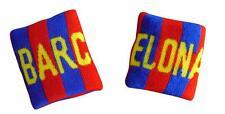 2 PULSERAS BARCELONA ESPAÑA no cartera bufanda bandera camiseta banderin gorra