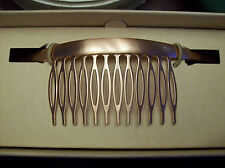 Jen Atkin X Chloe and Isabel Smooth Crescent Hair Comb in Rose Gold New in Box