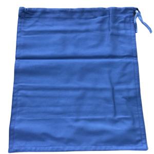 1 Heavy Duty Cash Deposit Bag Lite Blue Money Draw String Cloth Bank Coin Retail