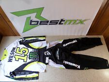 Dean Wilson #15 Thor Motocross Pants and Jersey Combo Med Jersey Pants 30 #C21