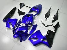 For HONDA CBR600RR 2005 2006 ABS Injection Mold Bodywork Fairing Kit Blue Black