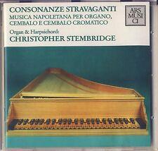 Stembridge plays Musica Napoletana: Consonanze Stravaganti (Ars Musici) Like New