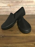 Women's Keds Champion Shoes Black Slip On Canvas Size 5.5 New Without Box