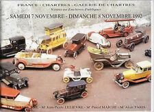 CATALOGUE DE VENTE.CHARTRES. JOUETS ANCIENS. 07/08/11/1992. REF 4836