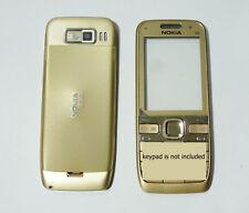 Gold Housing cover fascia facia faceplate case for Nokia E52 golden
