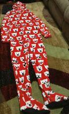 NEW W/ Tag  Coca Cola Multi Color Pajama Sleepwear XLARGE Overall w/ Hoodie