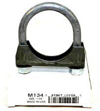 AP Exhaust M134 Exhaust Clamp 1-3/4IN, 3/8IN DGM U-BOLT W/FLANGE NUT APEM134 IG
