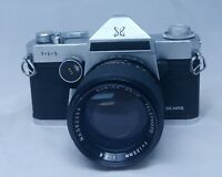 SEARS TLS Vintage SLR 35mm Film Camera SUNTAR 135mm F/2.8 AUTO Telephoto Lens
