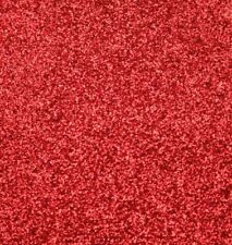 2 Pack - A4 - RED GLITTER FELT FABRIC SHEETS - NO SHED - Craft Bow Making DIY