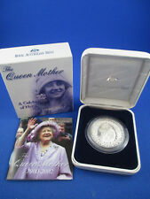 2002 $1 1oz Silver Proof Coin - THE QUEEN MOTHER 1900-2002 - R.A.M