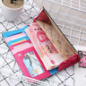 Owl Printing Retro Long Wallet Coin Purse Card Holders Women Handbag MP