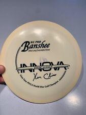 Innova Disc Golf 9X Kc Pro Banshee 170g White w/Black Stamp Rare! New