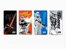 Limited Edition Star Wars 1st Series Ez-link Cards Complete Set of 4