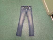 SQIN jeans taille 66cm jambe 68.6CM décoloré BLEU MOYEN filles 11/12 ans jeans