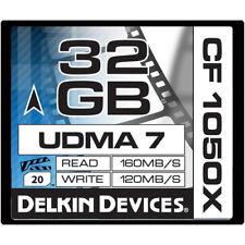 DK Pro 32G 1000X Compact Flash card fo Canon XF305 XF300 XF205 XF200 XF105 XF100