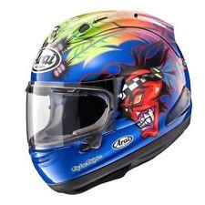 Arai Corsair X Scott Russell 2 Blue race replica motorcycle helmet Indian Chief