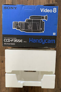 SONY handycam BOX and inserts ONLY! good condition for CCD-F355E camcorder