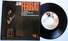 JEAN FERRAT 45 ep s/t FRANCE press w/ pic slv! BARCLAY