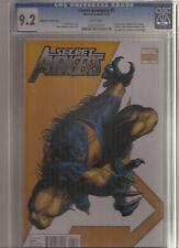 SECRET AVENGERS #1 CGC 9.2 BEAST 1:75 VARIANT COVER