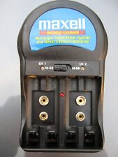 5 Maxell Rechargeable Battery for AA AAA 9V Charger Kit