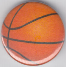 Basketball 1 Inch / 25mm Pin Button Badge Hoops Net Shoot Basket Netball Hang
