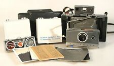 POLAROID 100,COMPLETE OUTFIT  INCLUDES 583 CLOSE UP AND 580 PORTRAIT KIT