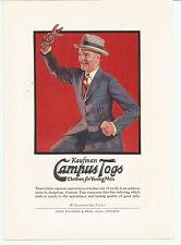 Vintage, Original, 1923 - Kaufman Campus Togs & Arch Preserver Shoe Ads