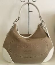 PRADA Logo Leather Bags & Handbags for Women
