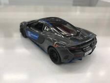 McLaren 675LT GRIGIO NERO BLU KINSMART giocattolo modello 1/36 scala pressofuso