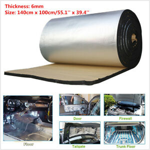 1M*1.4M Fiberglass Car Sound Proofing Heat Insulation Closed Cell Foam Sheet 6mm