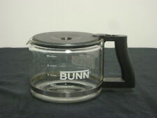 Bunn Coffee Carafe Replacement 10 Cup Pot Glass Black Lid