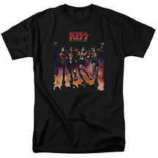 KISS Destroyer Cover Print Men's Classic Fit Shirt (Size Small - 5XL)