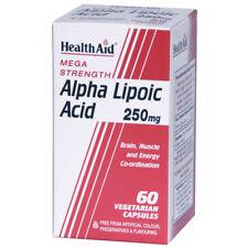 Ayuda para la salud el ácido alfa lipoico 250mg - 60 vegicaps
