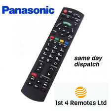 More details for panasonic replacement remote control n2qayb000752 3d tv viera internet smart tv