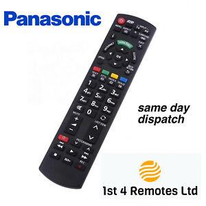 PANASONIC REPLACEMENT REMOTE CONTROL N2QAYB000752 3D TV VIERA INTERNET SMART TV