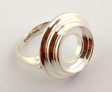 Ring Kr-20, Kr020 Size 6, New Authentic Kameleon 925 Silver 3 Tier Tabletop
