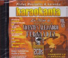 Vicente Fernandez y Alejandro Fernandez Vol 1 New Nuevo 2CDS  Karaoke