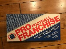 1987 2001 PRO FRANCHISE FOOTBALL BOARD GAME BY ROHRWOOD VINTAGE NEVER PLAYED