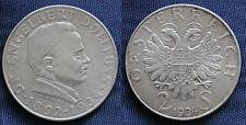 MONETA COIN AUSTRIA REPUBLIK ÖSTERREICH 2 SCHILLING 1934 ARGENTO SILVER  #1