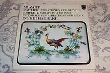 MOZART / INGRID HAEBLER-Complete Variations For Piano (1976 3-LP Vinyl Box Set)