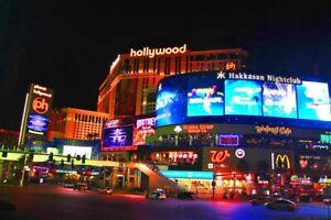 Planet Hollywood Hotel Las Vegas Strip Nevada America Photograph Picture Print