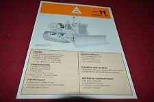Allis Chalmers HD-11 Series B Crawler Dozer Dealer's Brochure YABE9 Ver3