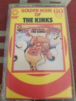Golden Hour Of The Kinks 1971 UK 1st Press Cassette Tape Album EX ZCGH 501