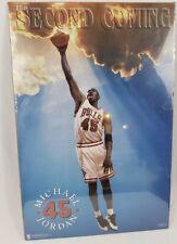 Michael Jordan Second Coming Bulls 1995 Costacos NBA Poster Original Sealed Rare